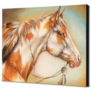Dreamer Horse Limited Edition Giclee on Canvas by Martin Katon
