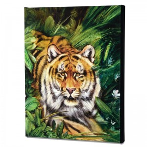 Tiger Surprise Limited Edition Giclee on Canvas by Martin Katon