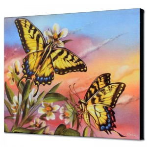Tiger Swallowtail Limited Edition Giclee on Canvas by Martin Katon