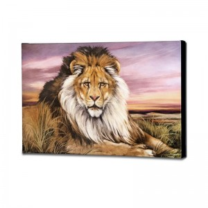 African Lion Limited Edition Giclee on Canvas by Martin Katon