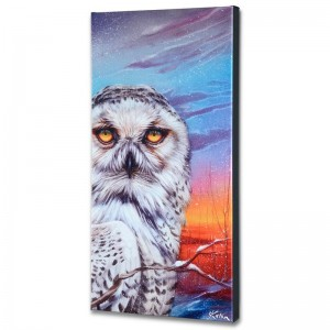 Visitor From the Arctic Limited Edition Giclee on Canvas by Martin Katon