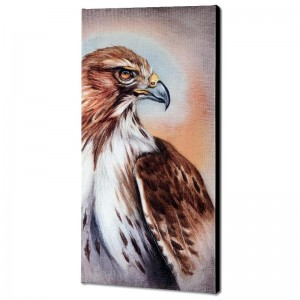 American Redtail Hawk Limited Edition Giclee Gallery Wrapped Canvas on Canvas by Martin Katon