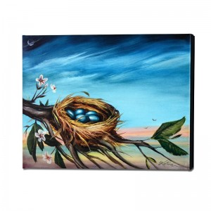 Life Begins Limited Edition Giclee on Gallery Wrapped Canvas by Martin Katon