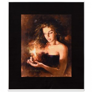 Shimmering Light Limited Edition Hand Embellished Giclee on Canvas by Andrew Atroshenko