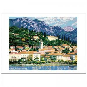 Bellagio Hillside Limited Edition Serigraph by Howard Behrens (1933-2014)