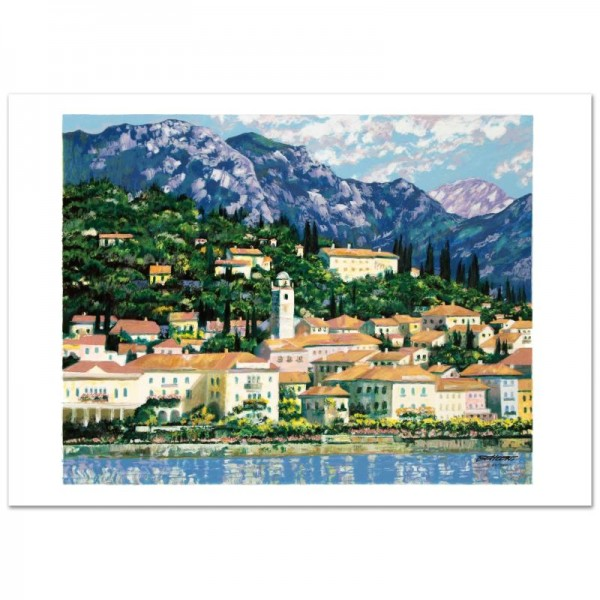 Bellagio Hillside Limited Edition Serigraph by Howard Behrens (1933-2014)