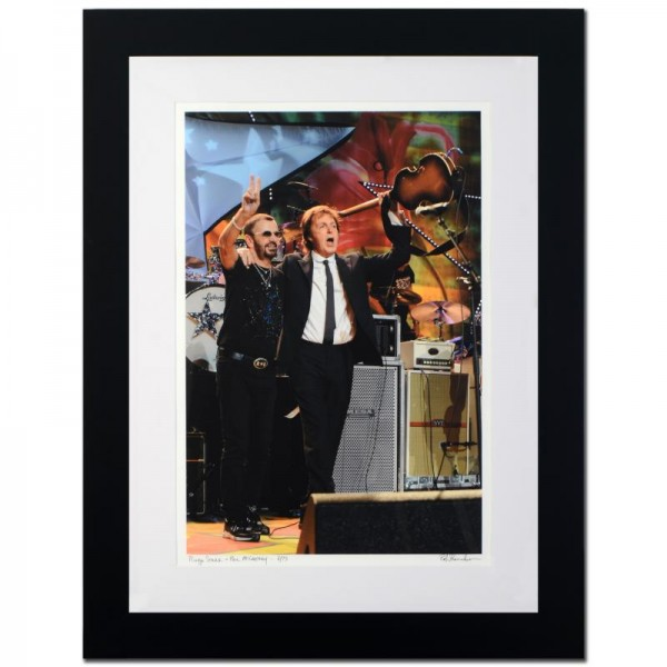 Ringo Starr & Paul McCartney Limited Edition Giclee by Rob Shanahan