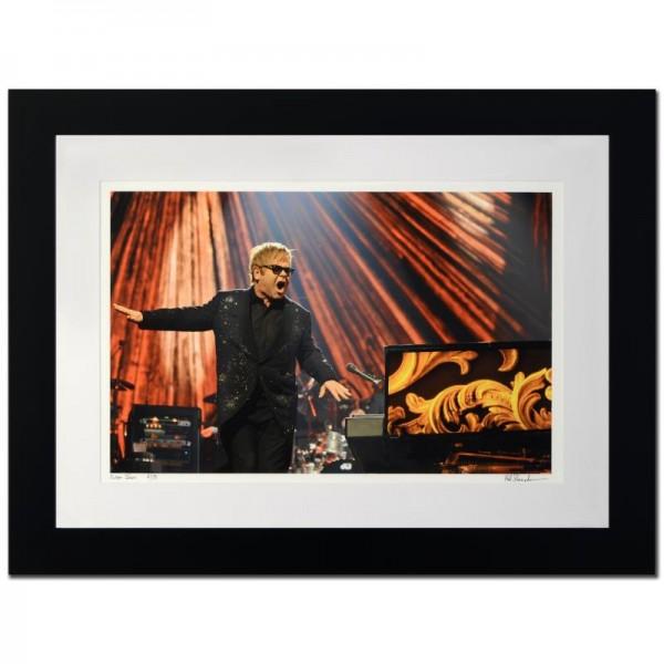 Elton John Limited Edition Giclee by Rob Shanahan