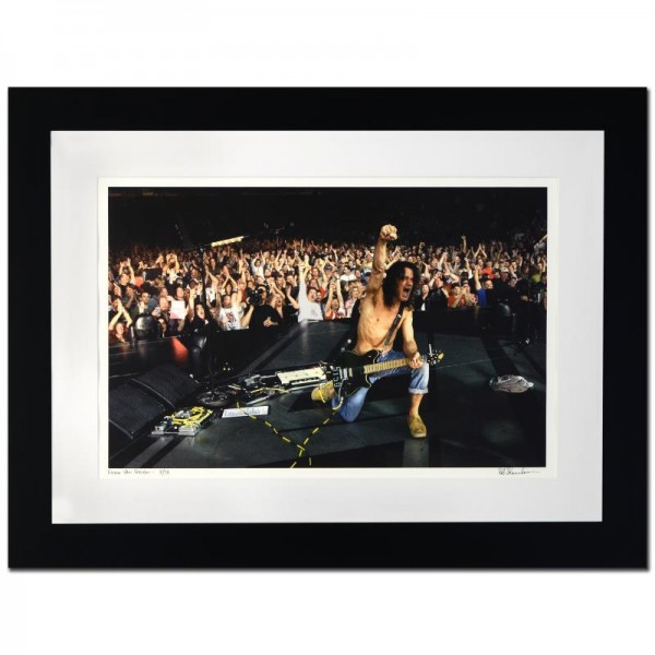 Eddie Van Halen Limited Edition Giclee by Rob Shanahan