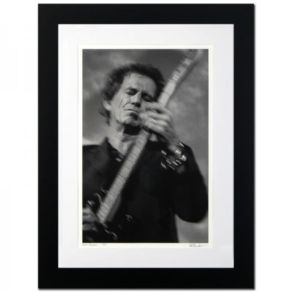 Keith Richards Limited Edition Giclee by Rob Shanahan