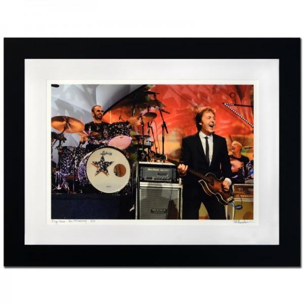 Ringo Starr & Paul McCartney Limited Edition Giclee by Rob Shanahan