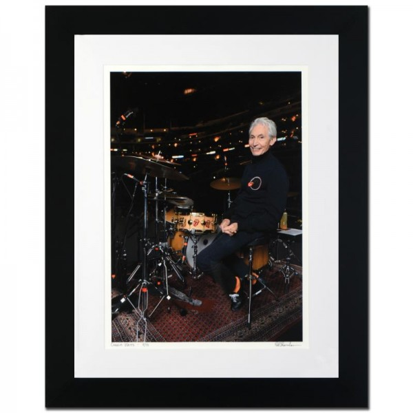 Charlie Watts Limited Edition Giclee by Rob Shanahan