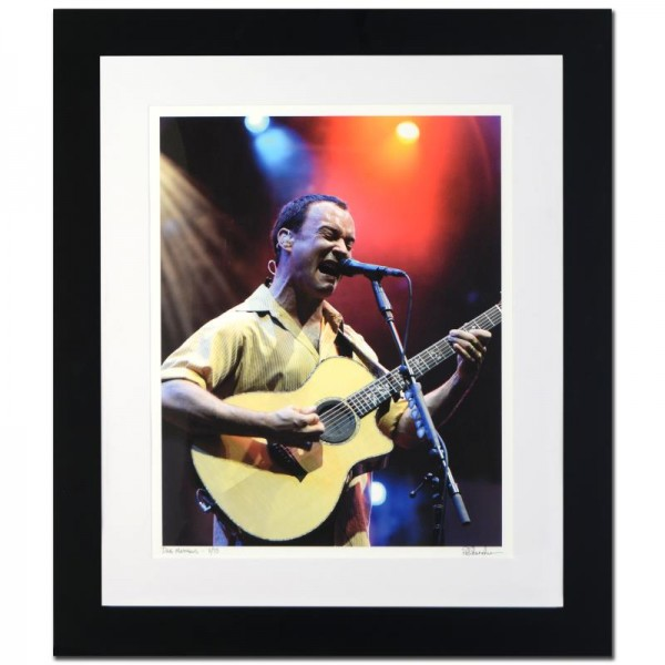Dave Matthews Limited Edition Giclee by Rob Shanahan