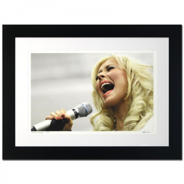 Christina Aguilera Limited Edition Giclee by Rob Shanahan