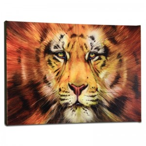 Red Liger Limited Edition Giclee on Gallery Wrapped Canvas by Martin Katon