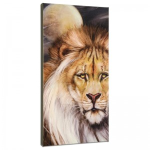 Leo Moon Limited Edition Giclee on Gallery Wrapped Canvas by Martin Katon
