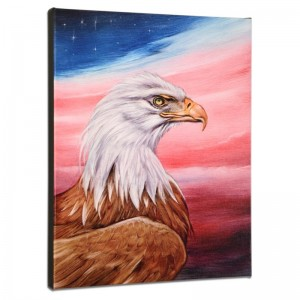 The Eagle Limited Edition Giclee on Gallery Wrapped Canvas by Martin Katon