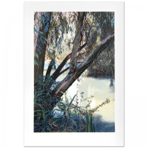 "Jordan River Limited Edition Serigraph (25"" x 36"") by Marcus Uzilevsky"