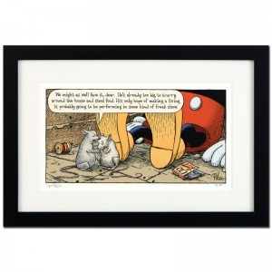"Bizarro! ""Mickey's Parents"" is a Framed Limited Edition which is Numbered"