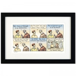 "Bizarro! ""Left Handed"" is a Framed Limited Edition which is Numbered"