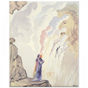 "Salvador Dali (1904-1989) - ""The Beauty of Sculptures"" SOLD OUT Limited Edition Glazed Ceramic Tile"