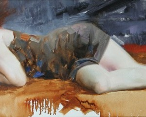 160401-NAP OIL ON CANVAS  12x36