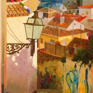 ...Y-se-hizo-la-luz.Granada.100x55-cms.39,3x21,21pulgadas.óleo sobre tabla