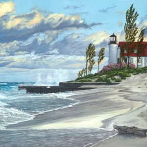 Point Betsie Lighthouse 18x24
