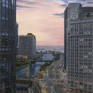 Sunrise from the Langham 20x30