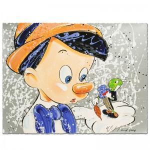 Boy Oh Boy Oh Boy Disney Limited Edition Serigraph by David Willardson