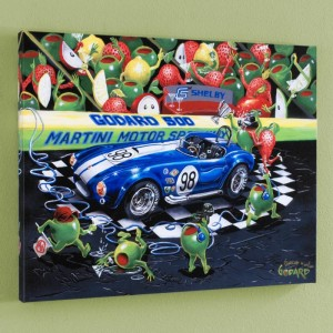 "We Olive A Shelby LIMITED EDITION Giclee on Canvas (35"" x 28"") by Michael Godard"