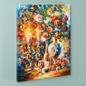 Shabbat LIMITED EDITION Giclee on Canvas by Leonid Afremov