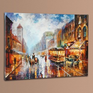 Paris 1925 LIMITED EDITION Giclee on Canvas by Leonid Afremov
