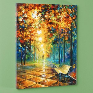 Misty Park LIMITED EDITION Giclee on Canvas by Leonid Afremov