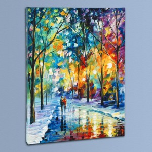 Under the Gaze LIMITED EDITION Giclee on Canvas by Leonid Afremov