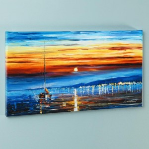 Bright Star LIMITED EDITION Giclee on Canvas by Leonid Afremov