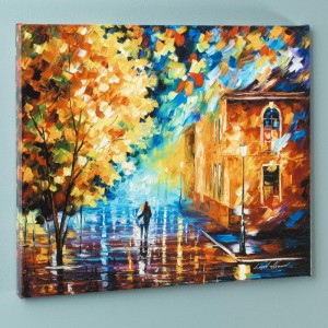 Through the Night LIMITED EDITION Giclee on Canvas by Leonid Afremov