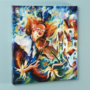 For Fun LIMITED EDITION Giclee on Canvas by Leonid Afremov