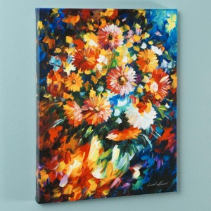 Magic Bouquet LIMITED EDITION Giclee on Canvas by Leonid Afremov