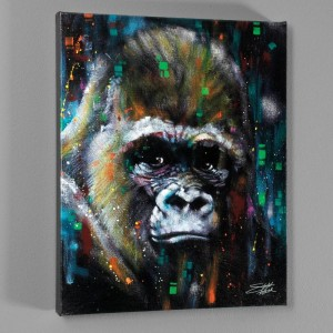 Albert LIMITED EDITION Giclee on Canvas by Stephen Fishwick