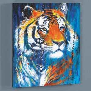 Nala LIMITED EDITION Giclee on Canvas by Stephen Fishwick