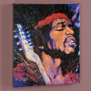 Purple Haze LIMITED EDITION Giclee on Canvas by Stephen Fishwick