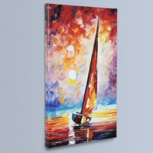 For the Sky LIMITED EDITION Giclee on Canvas by Leonid Afremov