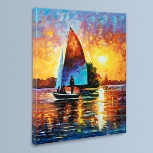 Bonding LIMITED EDITION Giclee on Canvas by Leonid Afremov