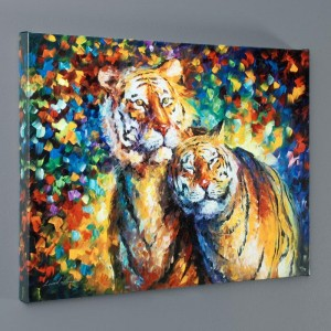 Family Portrait LIMITED EDITION Giclee on Canvas by Leonid Afremov