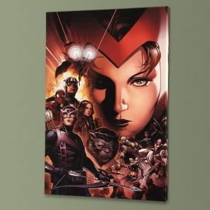 Avengers: The Children's Crusade #6 Limited Edition Giclee on Canvas by Jim Cheung and Marvel Comics