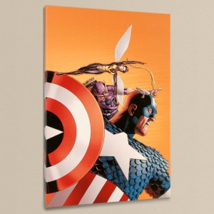 Avengers #77 LIMITED EDITION Giclee on Canvas by John Cassaday and Marvel Comics