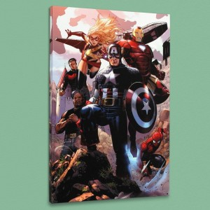 Avengers: The Children's Crusade #4 LIMITED EDITION Giclee on Canvas by Jim Cheung and Marvel Comics