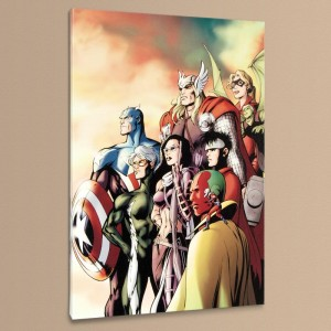 I Am an Avenger #5 LIMITED EDITION Giclee on Canvas by Alan Davis and Marvel Comics