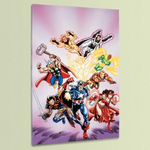 Avengers #16 LIMITED EDITION Giclee on Canvas by Jerry Ordway and Marvel Comics